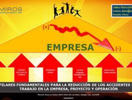 Pilares Fundamentales para la Reducción de los accidentes del trabajo en la empresa, proyecto y operación